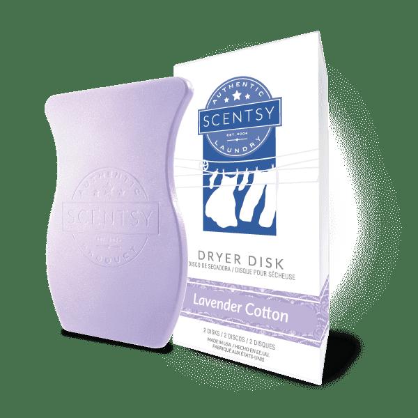 Lavender Cotton Dryer Disks