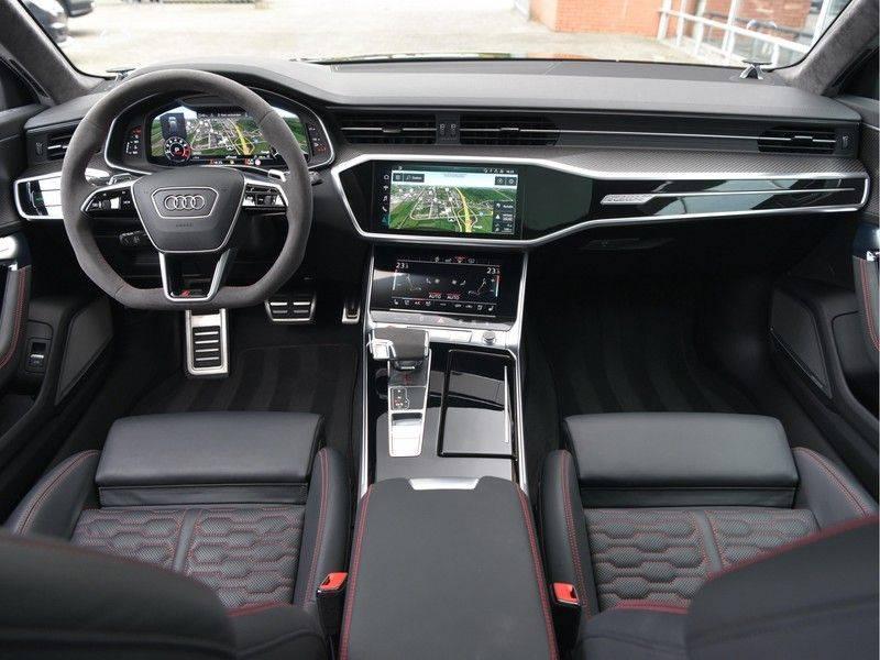 Audi RS6 4.0TFSI 600pk Quattro Keramiek Carbon B&O High-End Softcl Nachtz TV Laser Standk VOL!! afbeelding 19
