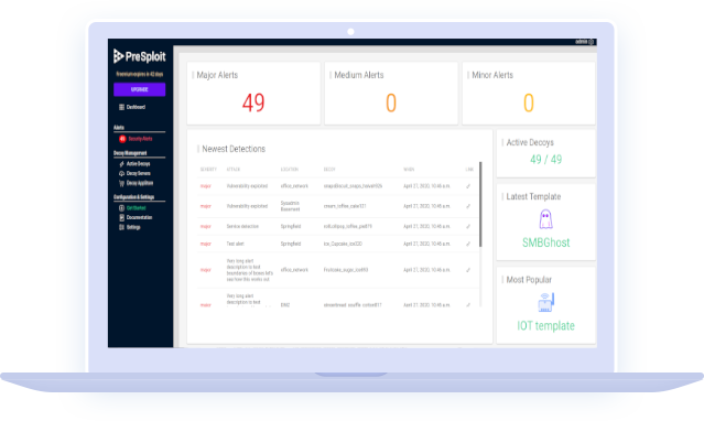 PreSploit Dashboard