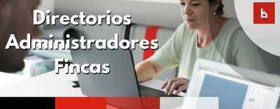 Directorios de proveedores donde encontrar administradores de fincas