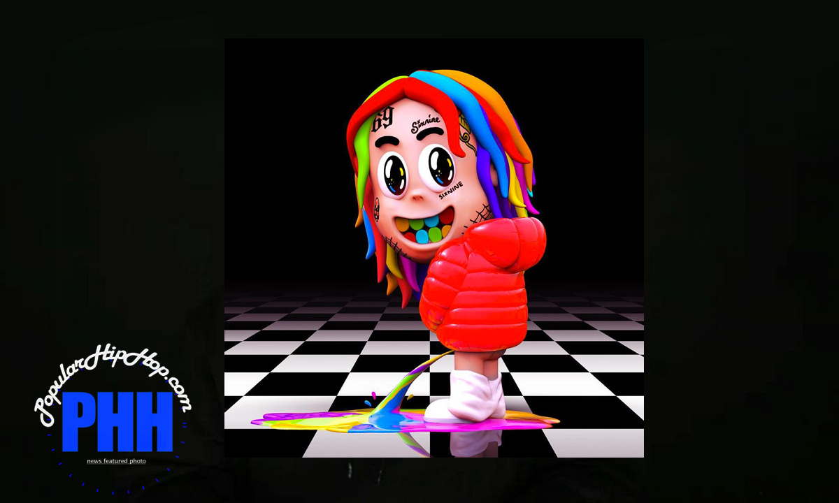 Cover Artwork of the Leaked Tekashi 6ix9ine 'Dummy Boy' Rap Album, As it's leaked now and free for download across the web