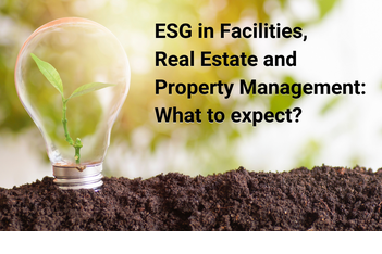 ESG, Facilities Management, Property, Real estate, Investments,