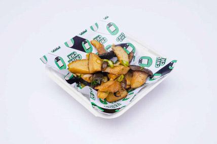 ChickCha - Snacks - Chunky mushroom