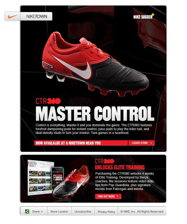 Nike Soccer email