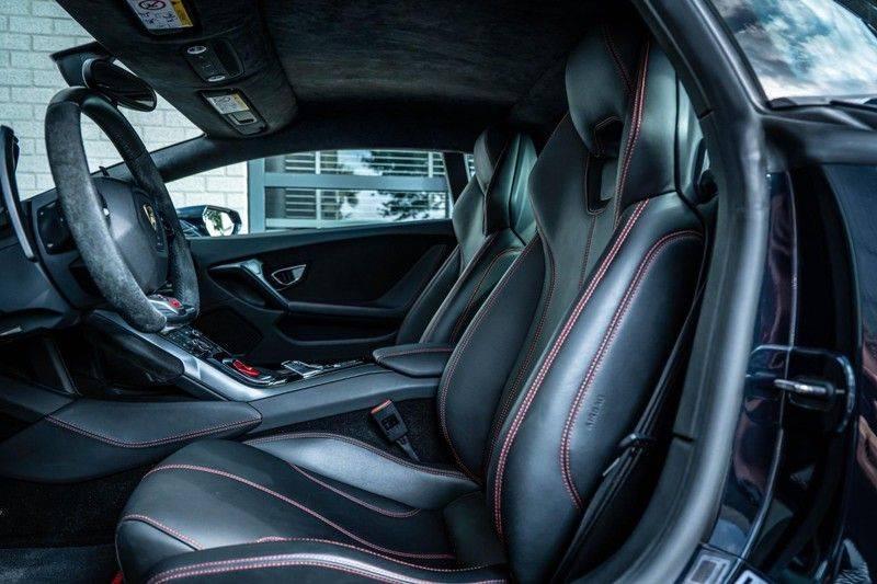 Lamborghini Huracan 5.2 V10 LP610-4, 610 PK, Keramiek, Nose Lift, Camera, Stitching, Rear/Wing, 33DKM, 2015!! afbeelding 10