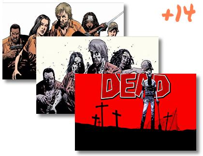 Walking Dead Comics theme pack