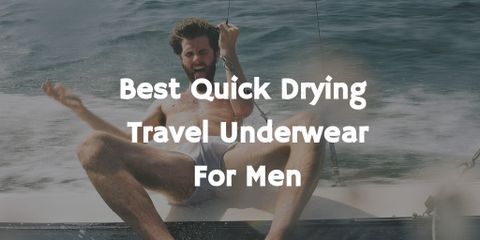 The regular cotton underwear is bad for travel. Instead, merino, smartwool are best quick drying traveling underwear. Find best travel underwear here.
