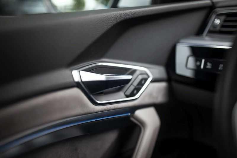 Audi e-tron 55 Quattro *Advanced / B&O / Pano / ACC / 4% Bijtelling €175,- P.M.* afbeelding 17