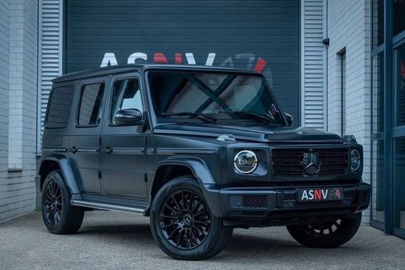 Mercedes-Benz G-Klasse G500, 421 PK, AMG-Line, Designo Magno Black, Distronic/Plus, Schuif/-Kanteldak, Sport-Uitlaat, BTW, 56DKM!!