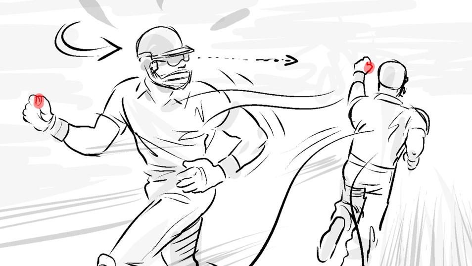 Toyota ECB Sponsorship Wicket Lane Departure Warning storyboard 04