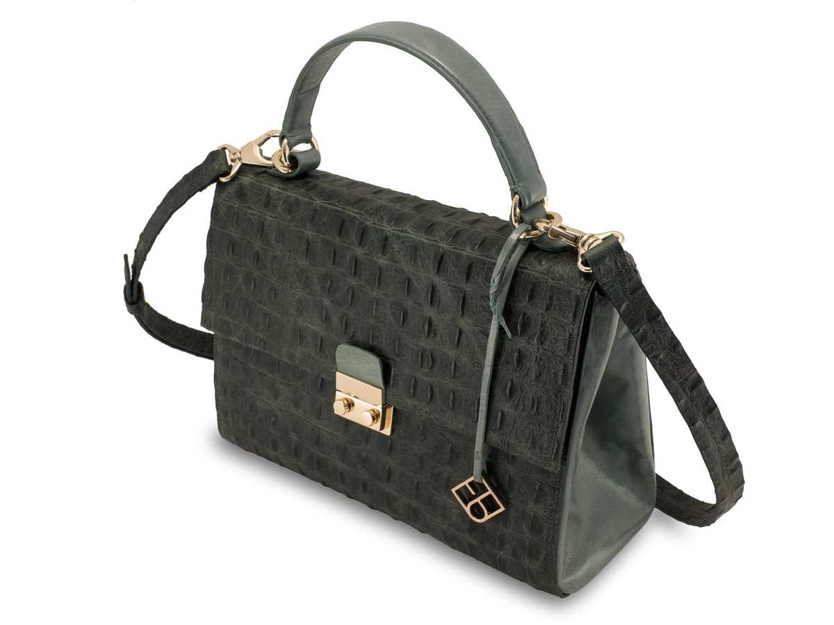 Almaaz Lock Medium - croc green