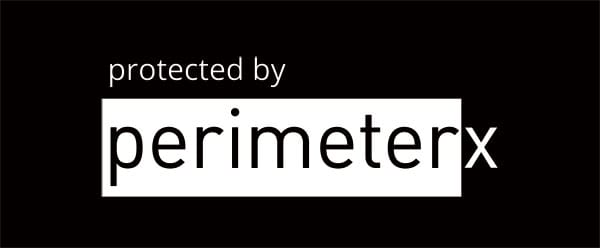 protected by perimeterx logo stacked white