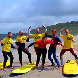 group surfing lessons