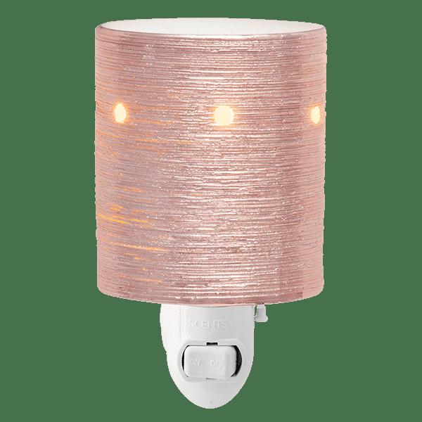 Etched Core Mini Warmer - Rose Gold