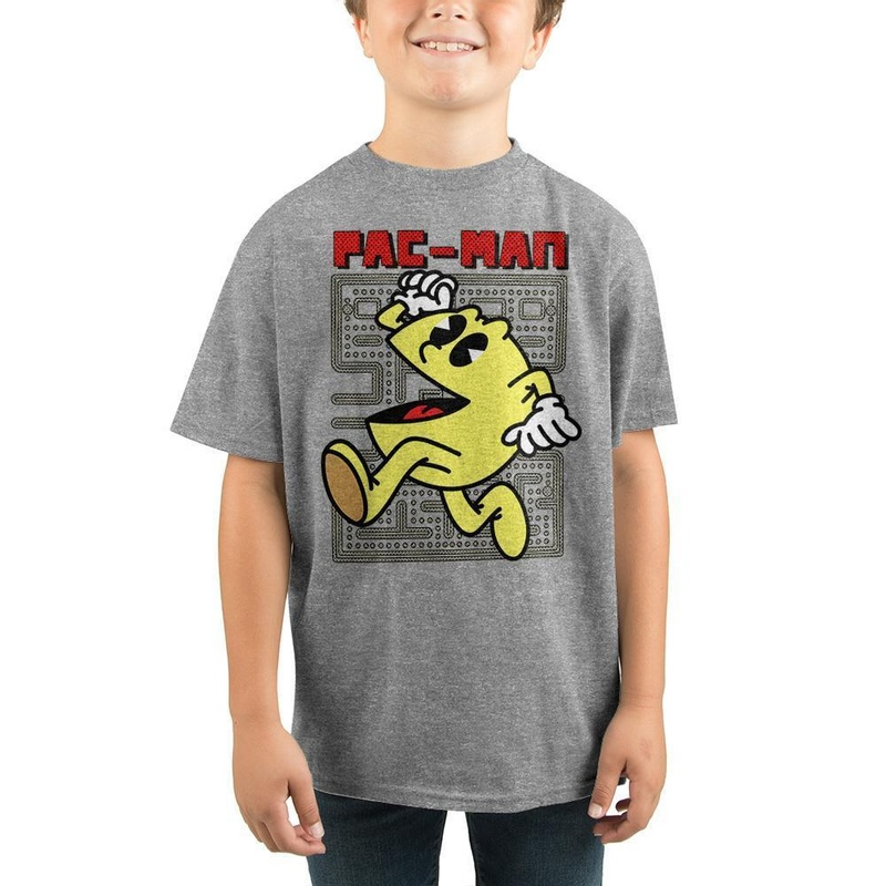 Pac-Man Video Game Retro Youth Graphic Tee