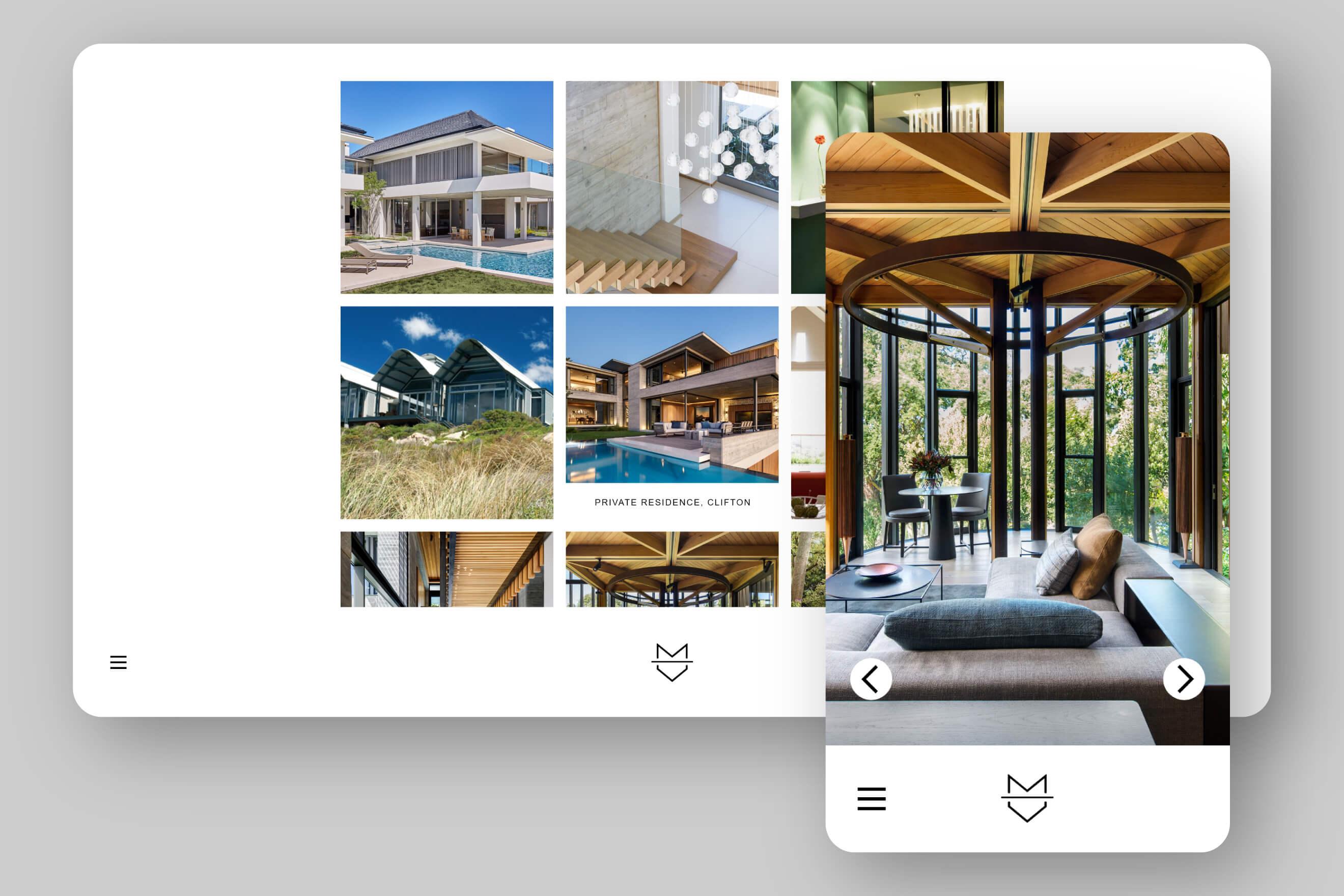 Malan Vorster Website Design Project image