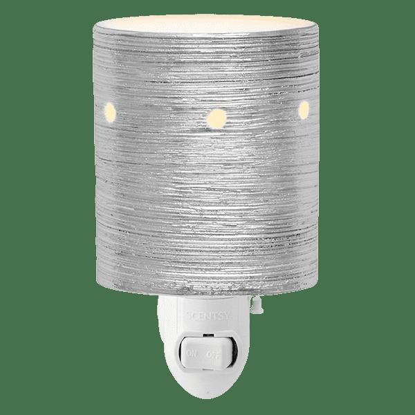 Etched Core Mini Warmer - Silver