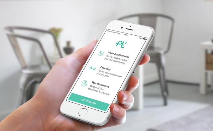 The PT² patient app