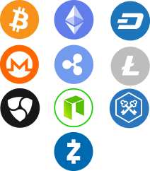 Crypto-currencies Icons