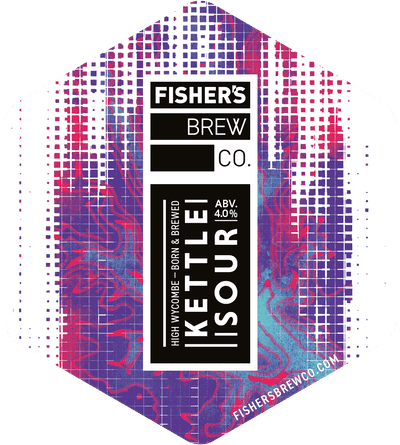 Fisher's Kettle Sour pump clip