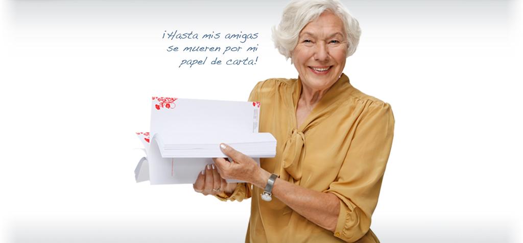 papel de cartas personalizado