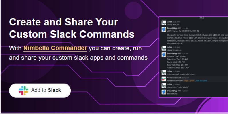 Nimbella's official website to help you install Nimbella on Slack