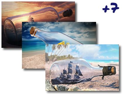 Ship In A Bottle theme pack