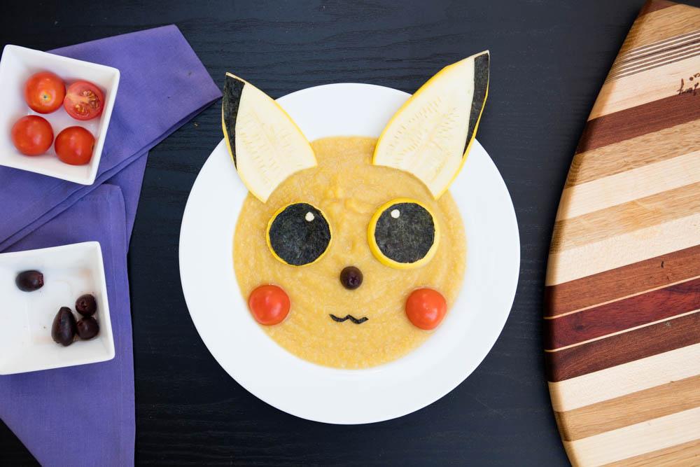 Vegan Pikachu Soup