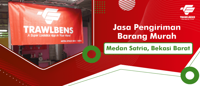 Jasa Pengiriman Barang Murah di Medan Satria, Bekasi Barat