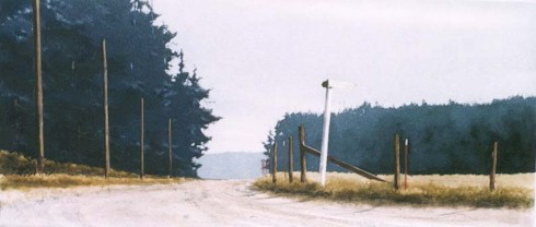 old road on whidbey island