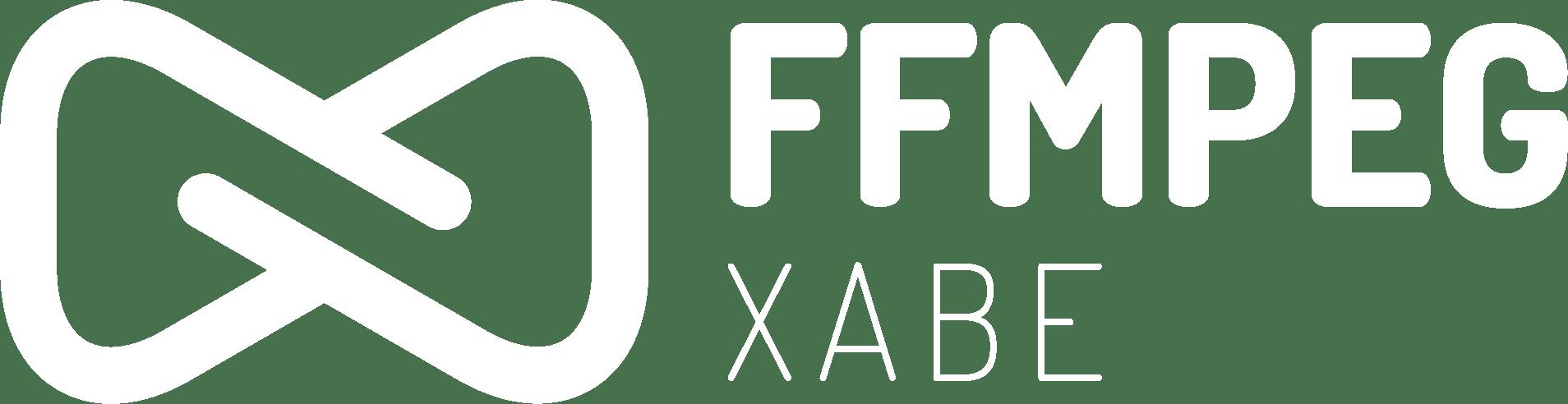 Xabe.FFmpeg white logo