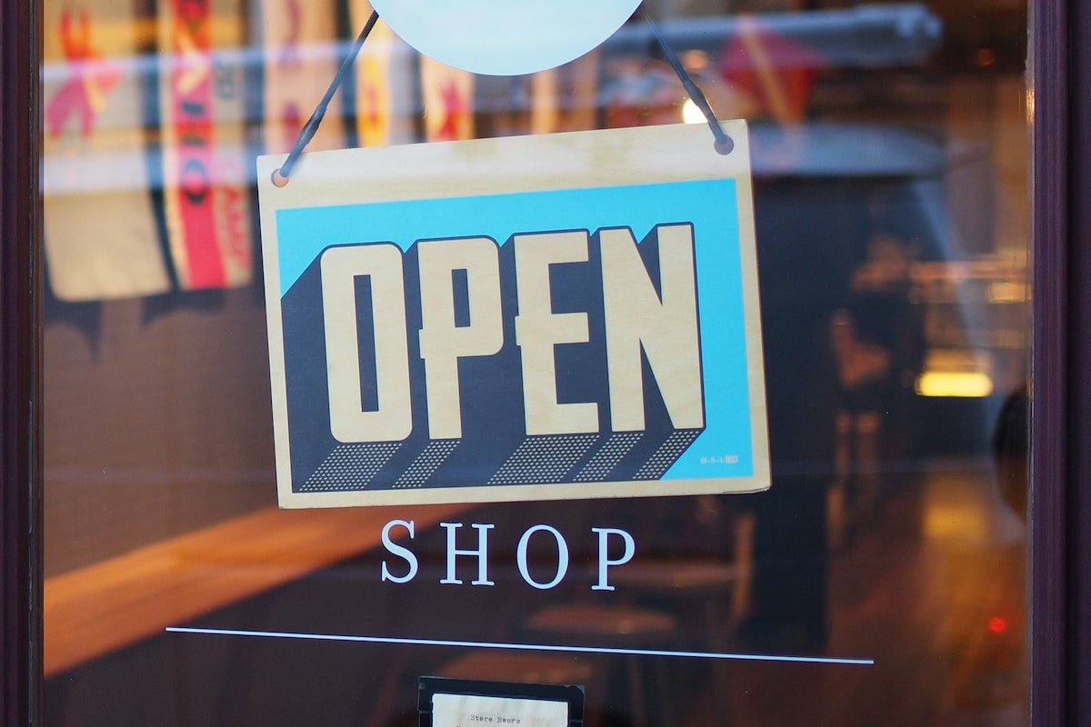 Shop open for business - Photo by Mike Petrucci on Unsplash