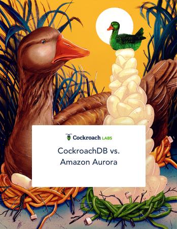 CockroachDB vs. Amazon Aurora cover image