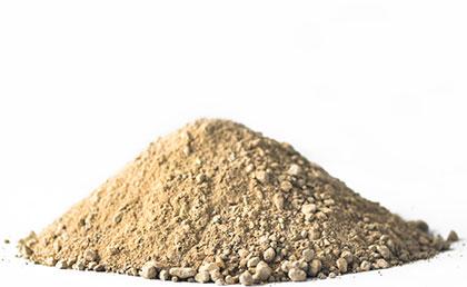 clay-based rock mineral fertiliser