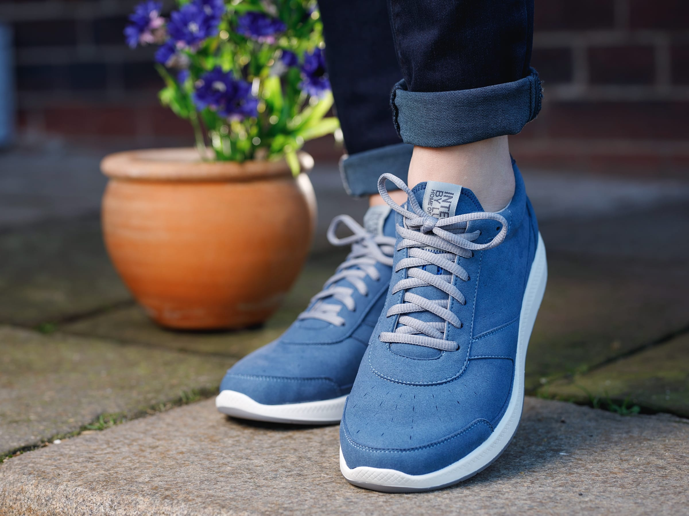 Integer Walk Rebound W (Cornflower Blue/Navy/White)