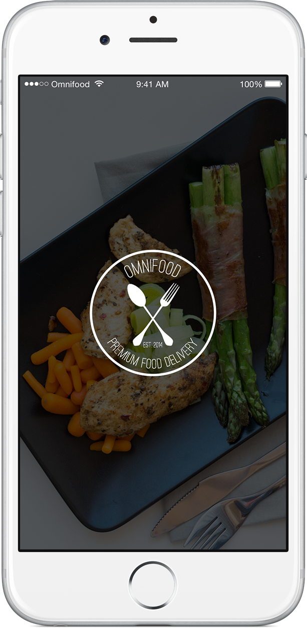 Omnifood app on iPhone