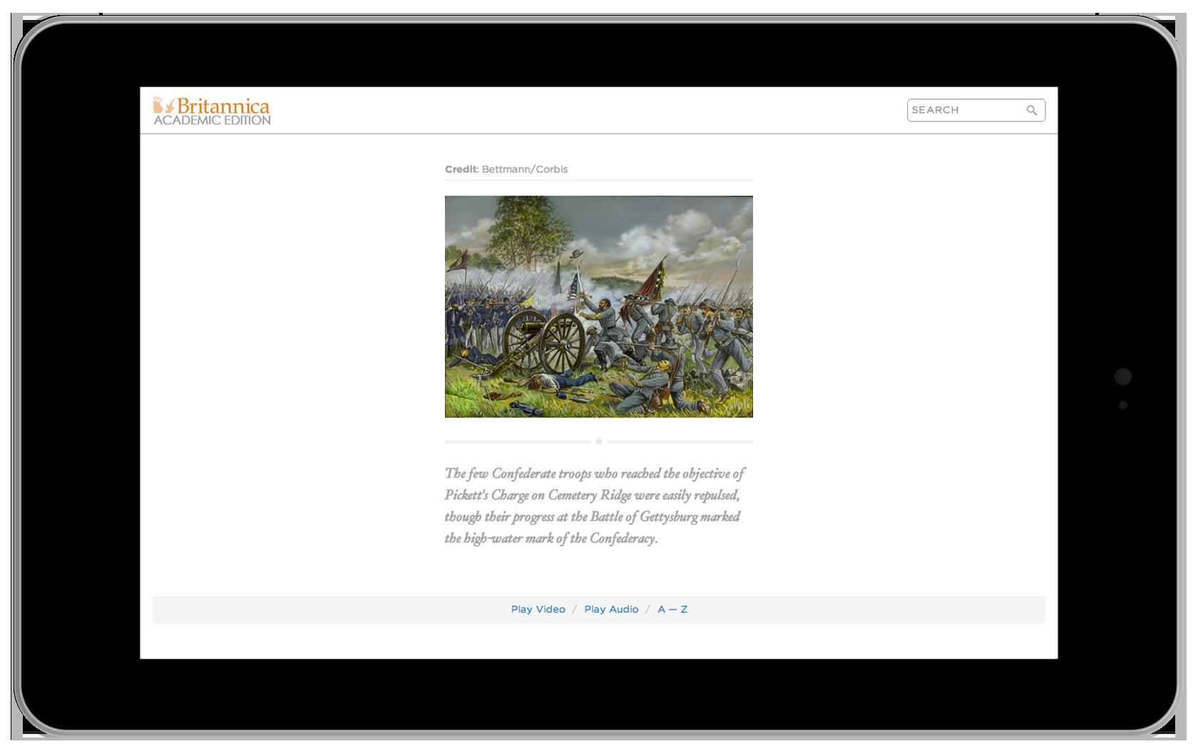 Encyclopedia Britannica Asset Screen