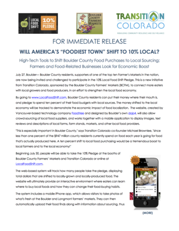 Bcfm And 10 Percent Pledge Press Release4